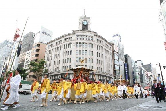 日枝神社山王祭2019の開催日や見どころやイベント内容は?