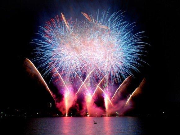 水戸黄門祭り花火大会の穴場スポット2019と駐車場や交通規制は?