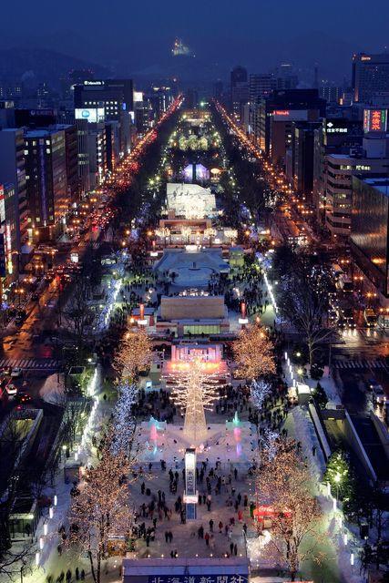 札幌雪祭り2019の日程や雪像会場と失敗しない服装のポイント