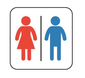 トイレのマーク男女