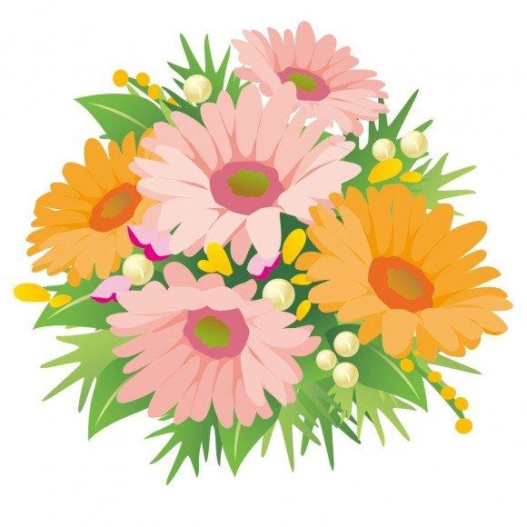 花のイラスト無料【画像・素材・背景】おすすめ10選!